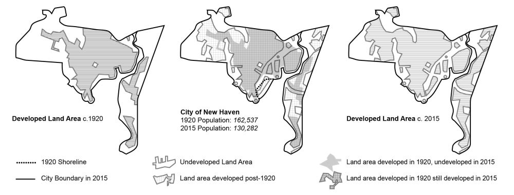 Developed Land Area Comparison_1920-2015