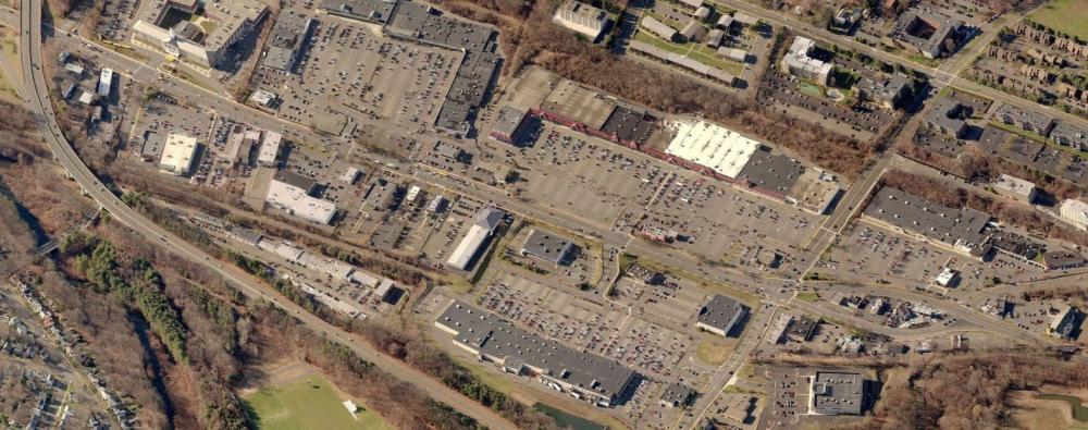 Figure 11_Bird's Eye view of the Hamden Shopping Plaza