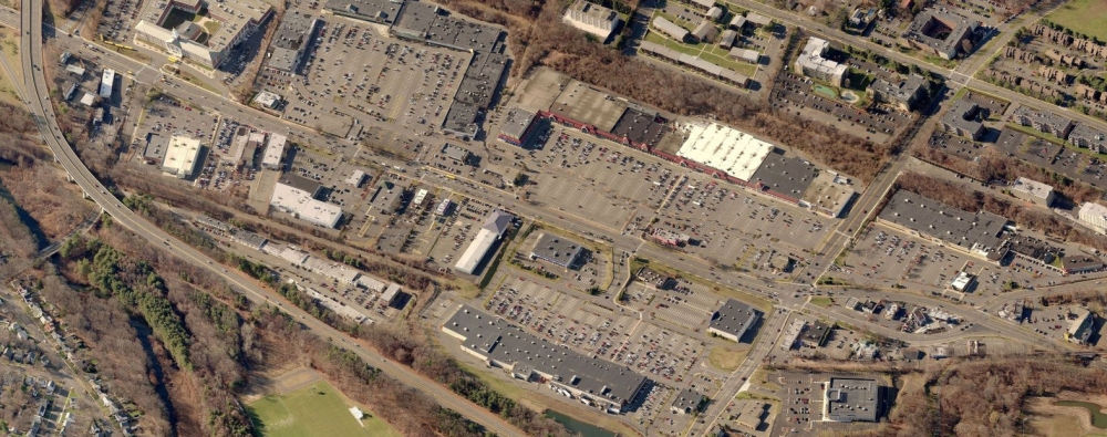 Figure 11_Bird's Eye view of the Hamden Shopping Plaza