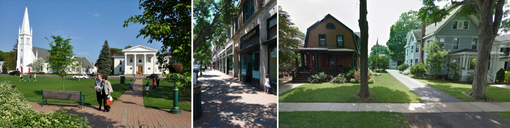 Figure 14_Existing character of a typical Greater New Haven Town Center