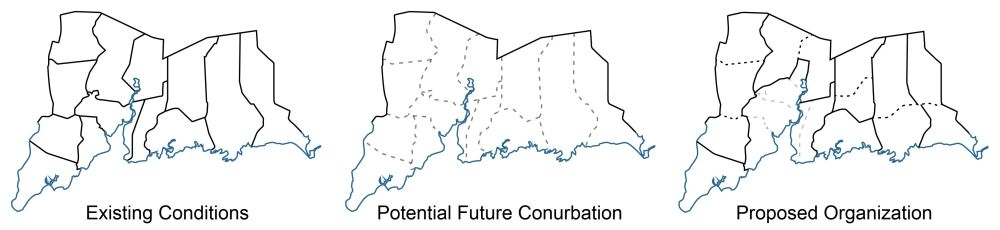 Figure 18_Diagram of Potential future conditions for Greater New Haven's municipal boundaries