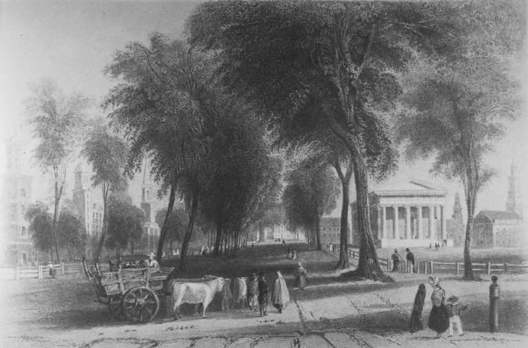 Green Statehouse College 1840
