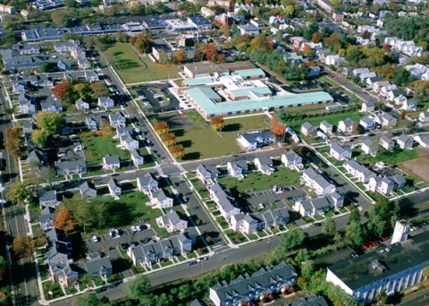 Aerial View of Monterey Place