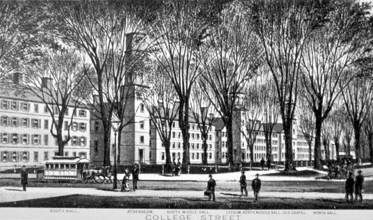 Old Brick Row College Street 1860