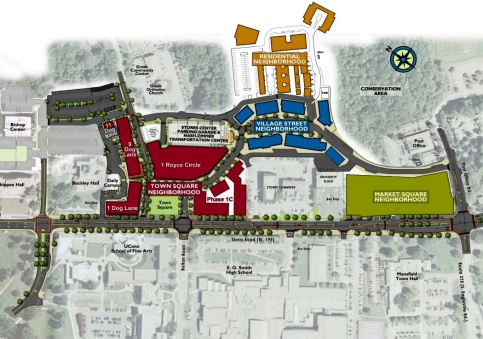Master Plan for Storrs Center