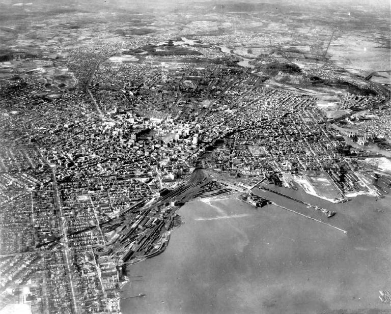 New Haven Aerial 1934