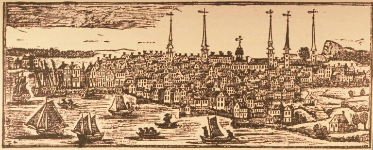 New Haven Harbor 1786