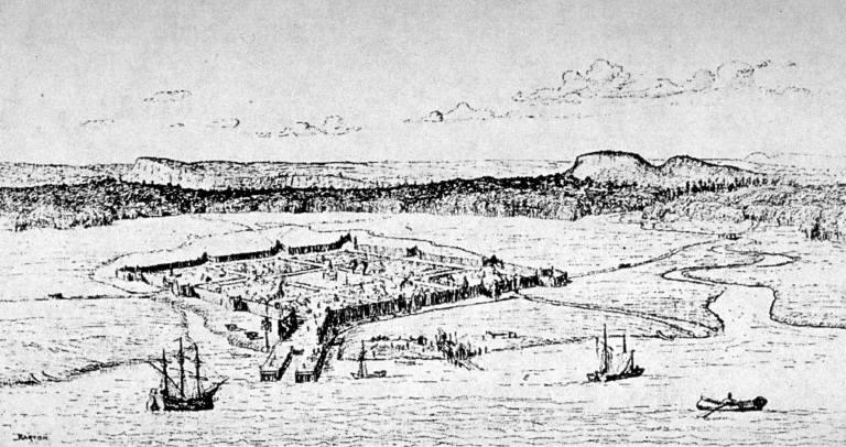 New Haven Palisades 17th Century