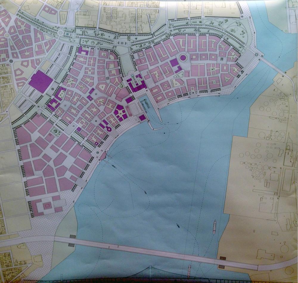 Shorefront plan
