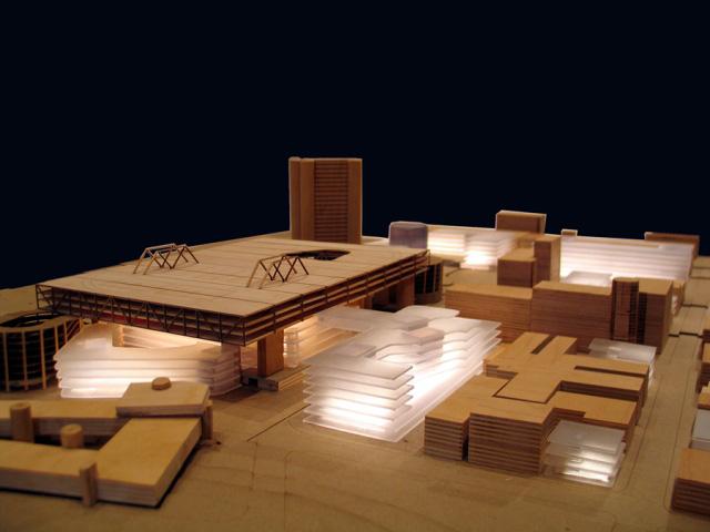 Gray Organschi Architects conceptual design proposal for Coliseum