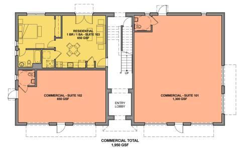 Figure 21c. Ground Floor Plan