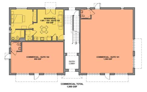 Figure 21c. Ground Floor Plan