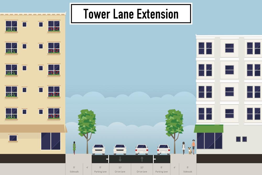 Renewal-Tower-Lane-Extension-section