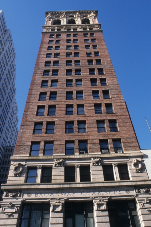 Figure 3. Contemporary view of the Broadway Chambers Building (Larry Speck)
