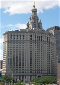 Figure 21. Contemporary view of Manhattan Municipal Building by McKim, Mead & White (NYC Citywide Administrative Services)