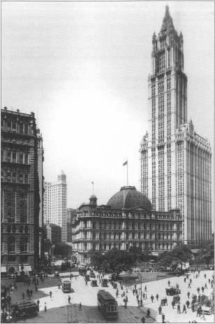 Figure 27. Historic view of the Woolworth Building (Cass Gilbert, Life and Work)