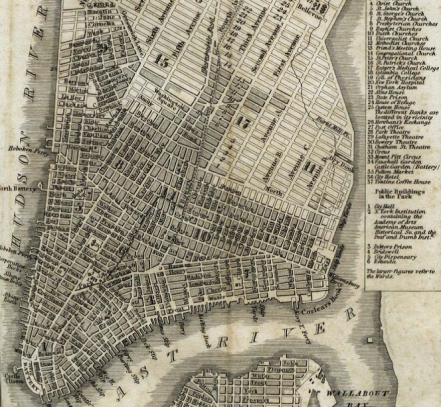Plan of New York, 1811