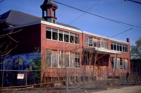 Former parochial school on Ashmun St, 1998 (HNHDC)