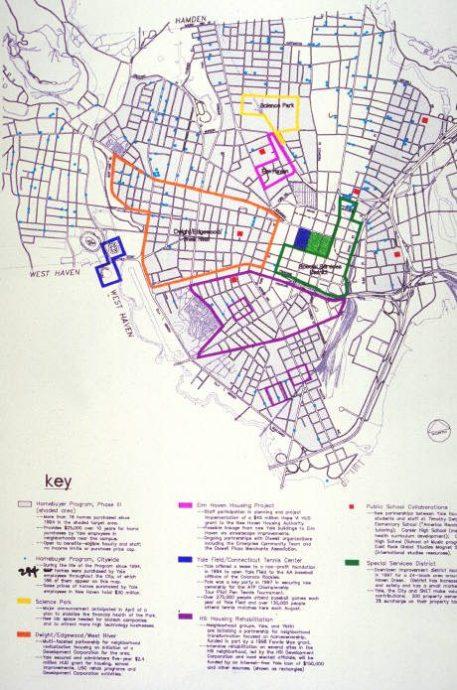 New Haven & Yale development initiatives, 1998