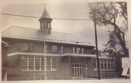 Former parochial school on Ashmun Street c. 1960s
